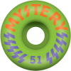 Mystery Victory - Green - 51mm - Skateboard Wheel (Set of 4)