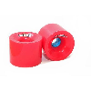 Rayne Greed Series - Red/Blue Core - 75mm 77a - Skateboard Wheels (Set of 4)
