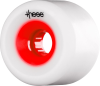 These Free Ride/Slide Offset 727 - White/Red Core - 66mm 78a - Skateboard Wheels (Set of 4)