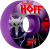 Bones STF V3 Pro Hoffart Go Hoff - Purple - 54mm 83b - Skateboard Wheels (Set of 4)