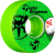 Bones STF V2 Pro Bingaman Aced - Green - 51mm 83b - Skateboard Wheels (Set of 4)