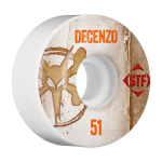 Bones STF Pro Decenzo Vintage V2 - White - 51mm - Skateboard Wheels (Set of 4)