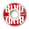 BLVD Stacked - White - 52mm - Skateboard Wheels (Set of 4)