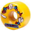 Seismic Cry Baby - Yellow - 64mm 80a - Skateboard Wheels (Set of 4)
