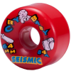 Seismic Cry Baby - Red - 64mm 84a - Skateboard Wheels (Set of 4)