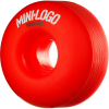 Mini Logo C-Cut Wheel - Red - 54mm 101a - Skateboard Wheels (Set of 4)