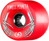Powell Peralta ATF - Red - 69mm 78a - Skateboard Wheels (Set of 4)
