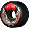 Powell Peralta Bomber III - Black - 64mm 85a - Skateboard Wheels (Set of 4)