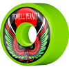 Powell Peralta Bomber III - Green - 64mm 85a - Skateboard Wheels (Set of 4)