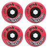 Abec 11 Powerballs - Pink - 72mm 78a - Skateboard Wheels (Set of 4)