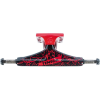 Tensor Aluminum Regular Tens Core Flick - Black/Red - 5.25 - Skateboard Trucks (Set of 2)