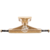 Tensor Aluminum Quality Seal Regular - Gold/Gold/White - 5.25 - Skateboard Trucks (Set of 2)