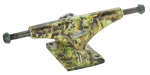 Krux 4.0 Sandoval Hollow Forged Downlow - Green/Green - 5.35in - Skateboard Trucks (Set of 2)