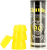 Thunder Bushing Tube - Yellow - 90a - Skateboard Bushings (4 PC)