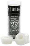 Thunder Bushing Tube - White - 90a - Skateboard Bushings (4 PC)