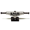 Silver Kalis Everlast - Raw/Black - 8.0in - Skateboard Trucks (Set of 2)