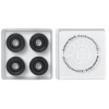 Element Black Bearing Set - Black - Skateboard Bearings (8 PC)