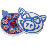 Pig Pig Tin - Abec 3 - Skateboard Bearings (8 PC)