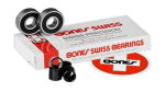 Bones Swiss Labyrinth II - Skateboard Bearings (8 PC)