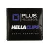 Plus Reserve Universal - Black/Blue Hellaclips - 1in - Skateboard Mounting Hardware