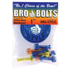 "Bro Style Hardware Phillips Colored 1"" - Skateboard Mounting Hardware"
