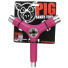 Pig Tri-Socket Threader Tool - Pink - Skateboard Tool