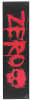 Zero Mob Tape Blood - Red - Skateboard Griptape (1 Sheet)