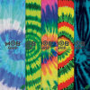 Mob  9in x 33in - Assorted Tie Dye - Skateboard Griptape (1 Sheet)