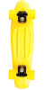 Rock On Mini Cruzer - Yellow w/ Yellow Wheels - Complete Skateboard