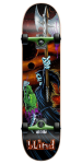 Blind Lizard Head - Orange/Green - 7.75 - Complete Skateboard