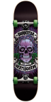 Darkstar Tokes Mid FP - Purple/Green - 7.3 - Complete Skateboard