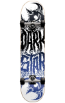 Darkstar Reverse FP - Black/Blue - 7.875in - Complete Skateboard