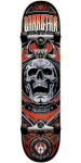 Darkstar Crest FP - Red - 7.5in - Complete Skateboard