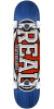 Real Dropouts - Blue - 7.75in x in - Complete Skateboard