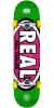 Real Oval Tone - Green - 7.75in x in - Complete Skateboard