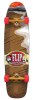 Flip El Cigarro II Cruzer - Brown/Red - 9.0in x 32.5in - Complete Skateboard
