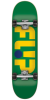 Flip Odyssey Logo Regular Sk8 - Green - 7.88in x 32.0in - Complete Skateboard