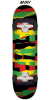 Flip Team Odyssey Torn Rasta Mini Sk8 - Multi - 7.0in x 29.2in - Complete Skateboard