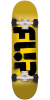 Flip Team Odyssey Stencil Regular Sk8 - Yellow - 7.75in x 31.63in - Complete Skateboard