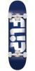 Flip Team Odyssey Stencil Regular Sk8 - Blue - 7.5in x 31.25in - Complete Skateboard