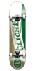 Cliche Imported - White/Green - 8.0 - Complete Skateboard