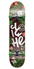 Cliche Hanalei - Green/Brown - 7.75 - Complete Skateboard