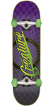 Creature Horror City Sk8 - Purple - 7.9in x 31.7in - Complete Skateboard