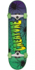 Creature Web Sk8 - Green/Purple - 7.5in x 30.6in - Complete Skateboard