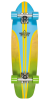 Dusters Glassy Pinstripe Cruiser - Blue/Yellow - 29in - Complete Skateboard