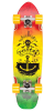 Dusters Anchored Cruiser - Rasta - 27.0in - Complete Skateboard