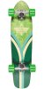 Dusters Flashback Cruiser - Kryptonics Green - 28.0in - Complete Skateboard