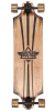 Dusters Keen Downhill Longboard - Gold - 35.0in - Complete Skateboard