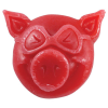 Pig Head Curb - Red - Skateboard Wax