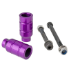 Grit Alloy - Purple - Scooter Pegs (Set of 2)